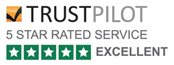 5-star TrustPilot rating